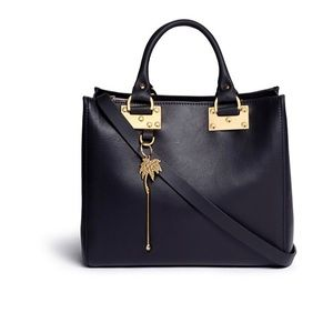 Sophie Hulme Mini Beaumont Calfskin Leather Bag